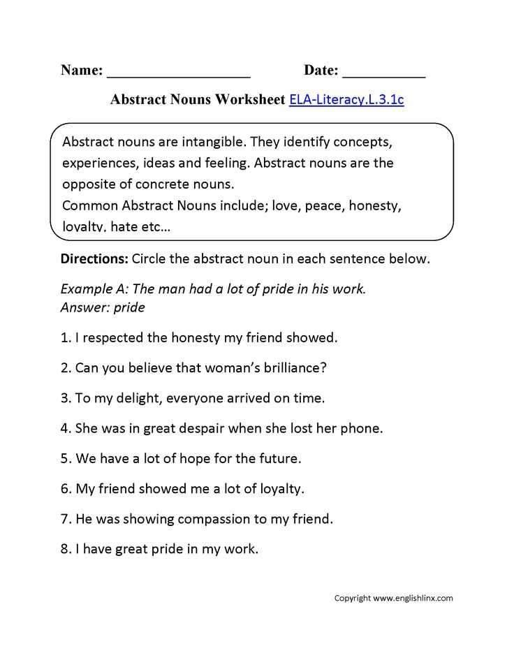 Free Noun Worksheets or 7 Best Adjectives Adverbs Nouns and Verbs Images On Pinterest