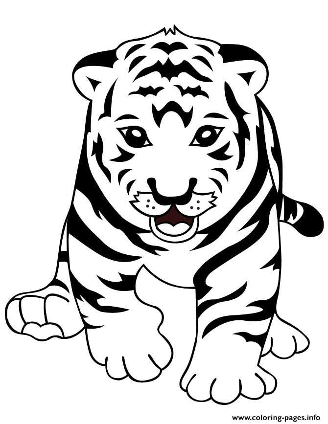 Free Printable Children's Bible Lessons Worksheets with Colouring Book Tiger