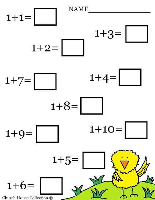 Free Printable Math Addition Worksheets for Kindergarten as Well as 99 Best Maths for Kids Images On Pinterest
