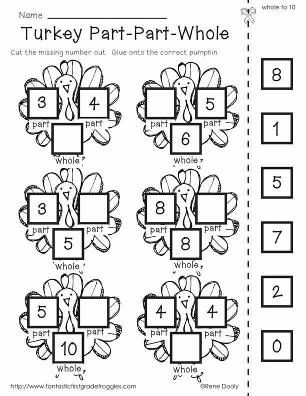Free Printable Thanksgiving Math Worksheets for 3rd Grade as Well as 66 Best 1st Grade Math Images On Pinterest