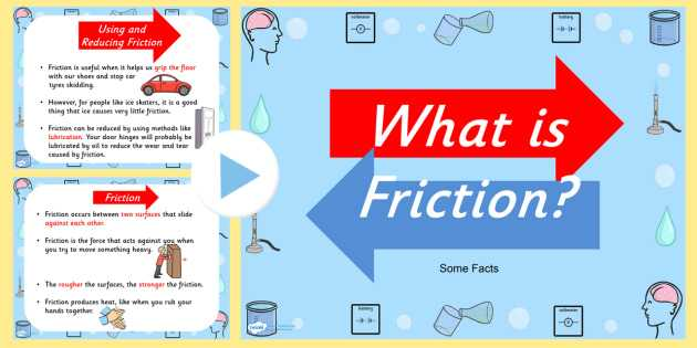 Friction and Gravity Lesson Quiz Worksheet Along with What is Friction Powerpoint Friction Resistance Friction and