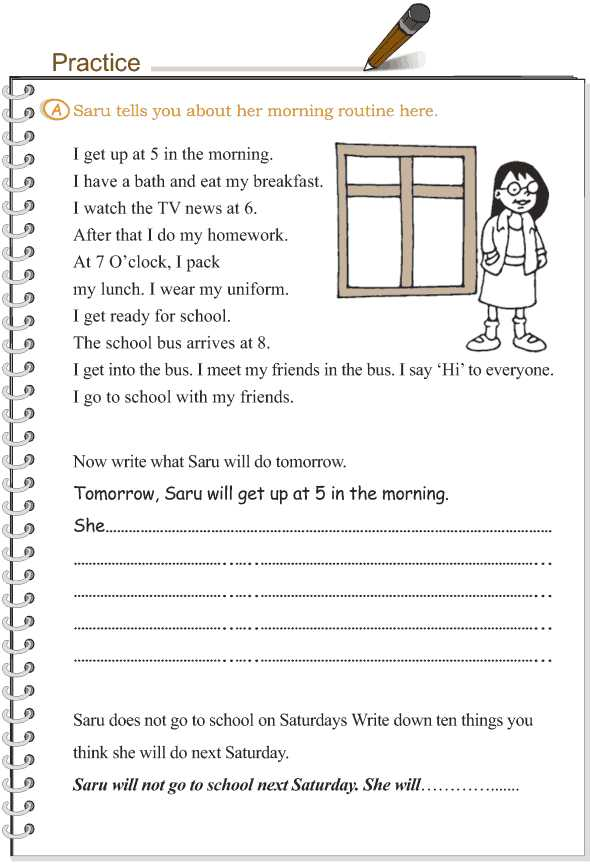 Future Tense Spanish Worksheet together with Grade 3 Grammar Lesson 11 Verbs the Simple Future Tense 3