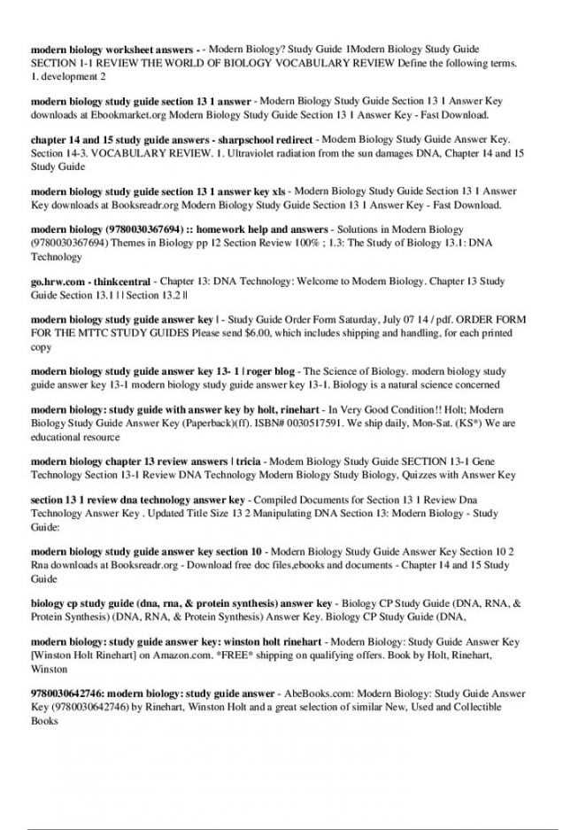 Genetics and Biotechnology Chapter 13 Worksheet Answers with Chapter 13 Section 2 Dna Technology Study Guide Answers