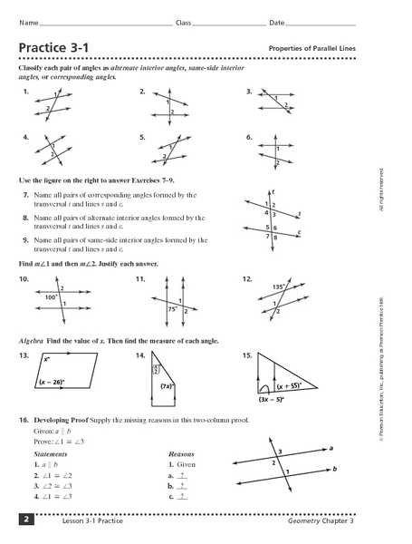 Geometry Parallel Lines and Transversals Worksheet Answers with Fresh Parallel Lines and Transversals Worksheet Best Worksheet 3