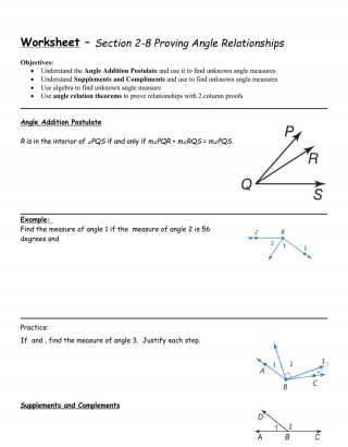 Geometry Segment and Angle Addition Worksheet Answers as Well as Angle Addition Worksheet Math Worksheets Geometry the Basic In This