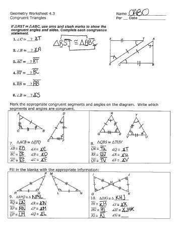 Geometry Segment and Angle Addition Worksheet Answers as Well as Worksheet Answers for Geometry Worksheets for All