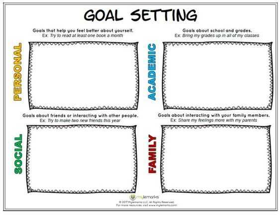 Goal Setting Worksheet for Students Along with 19 Best Goal Setting for Students Images On Pinterest