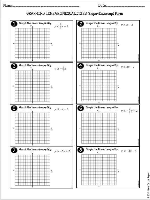 Graphing Linear Equations Worksheet with Answer Key with Graphing Linear Functions Worksheet Answers Best Algebra Archive