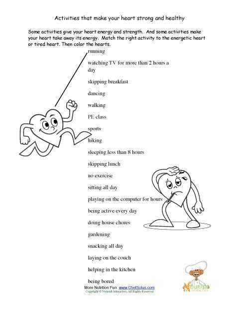 Health and Wellness Worksheets for Students Also 24 Best Valentines Day Printables Images On Pinterest