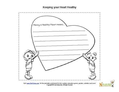 Healthy Eating Worksheets Also 24 Best Valentines Day Printables Images On Pinterest