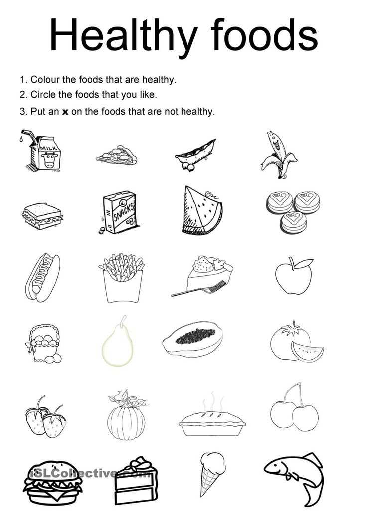 Healthy Food Worksheets with 187 Best English Worksheet Images On Pinterest