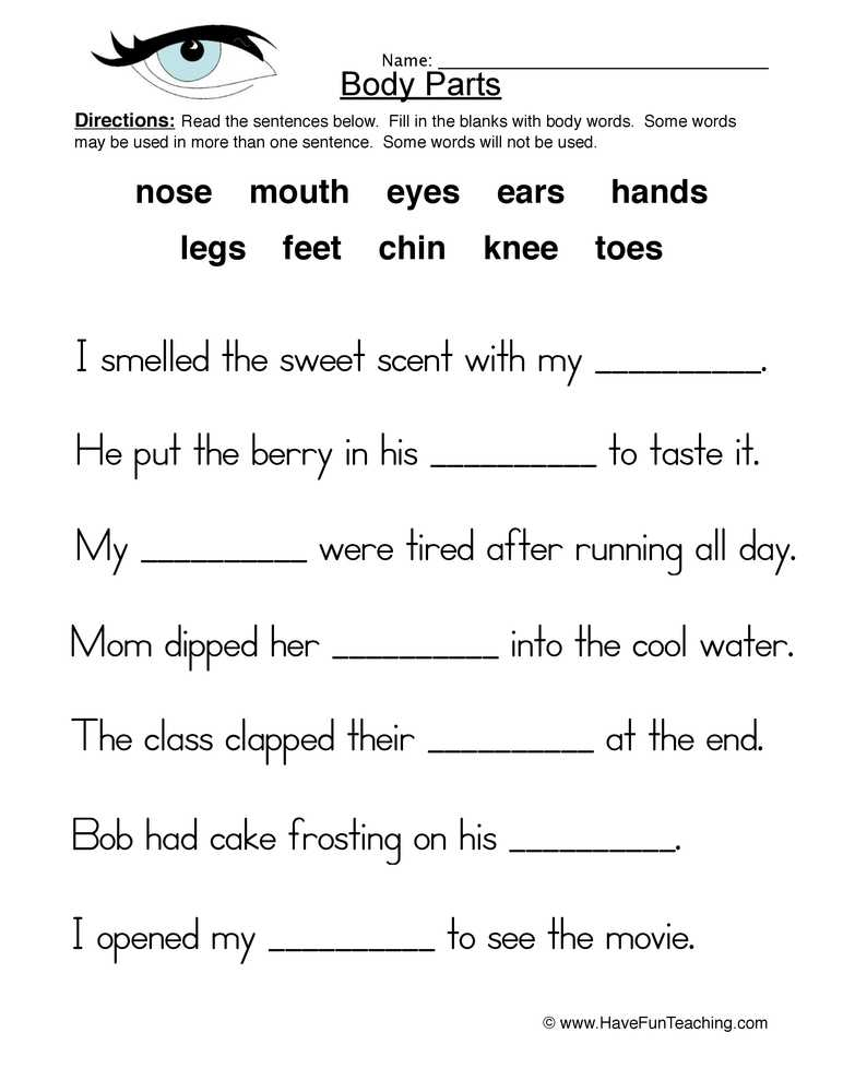 Healthy Living Worksheets Pdf and Health and Nutrition Worksheets