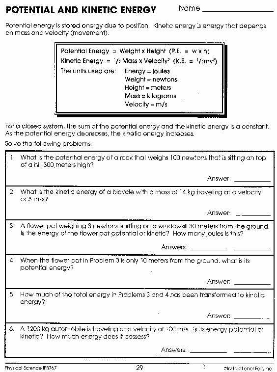 High School Physics Worksheets with Answers Pdf together with 17 Inspirational Collection Physics Worksheets with Answers
