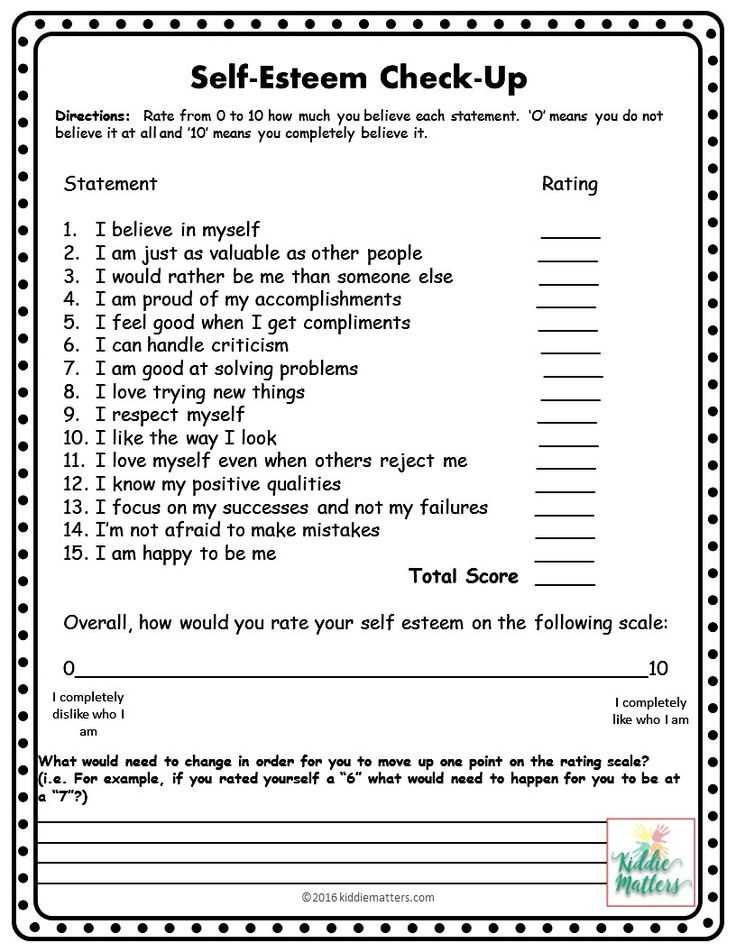 Improving Self Esteem Worksheets with 1077 Best Self Esteem & Confidence Empowering Girls Images On