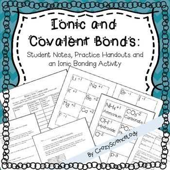 Ionic Bonding and Ionic Compounds Worksheet Answers with Lovely Ionic Bonding Worksheet Answers Beautiful Ionic Covalent and