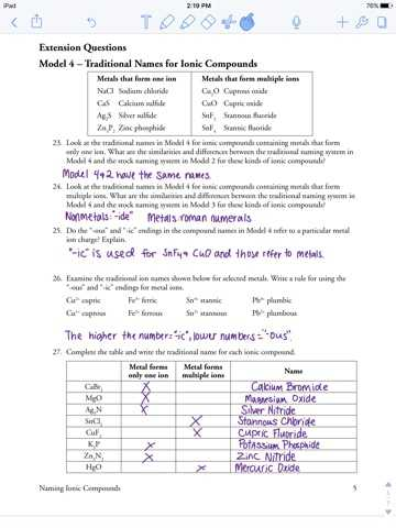 Ionic Nomenclature Worksheet with Worksheets 48 Beautiful Naming Chemical Pounds Worksheet Full Hd