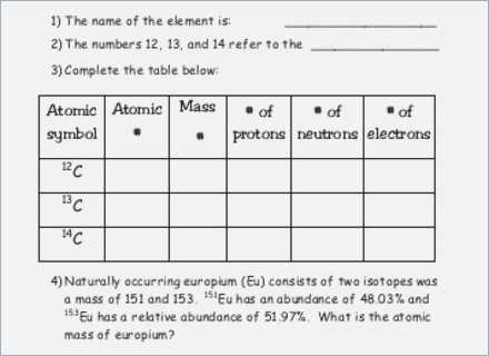 Isotopes and atomic Mass Worksheet Answer Key together with isotopes and Average atomic Mass Worksheet – Webmart