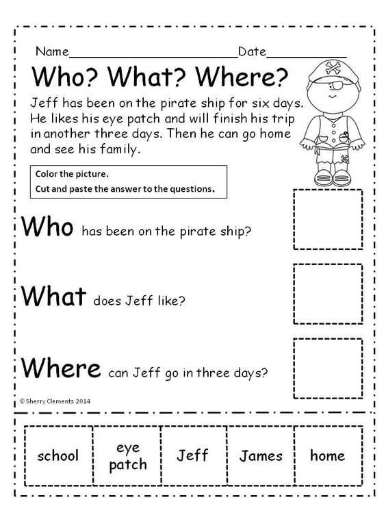 Kindergarten Reading Comprehension Worksheets and Worksheets 45 Lovely Prehension Worksheets High Resolution