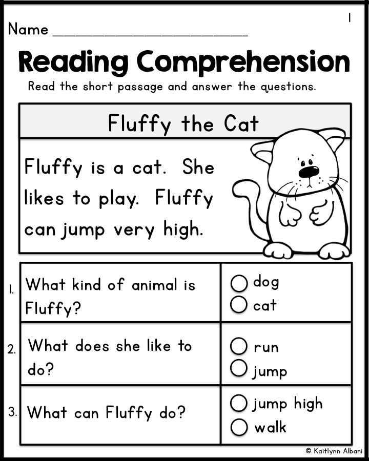 Kindergarten Reading Comprehension Worksheets as Well as Kindergarten Reading Prehension Passages Set 1 Freebie