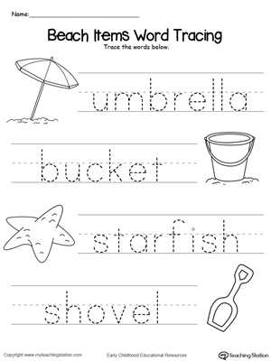 Kindergarten Writing Worksheets Pdf and Create Tracing Worksheets Guvecurid