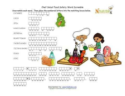 Kitchen Safety Worksheets Also 31 Best Kitchen Activities Images On Pinterest