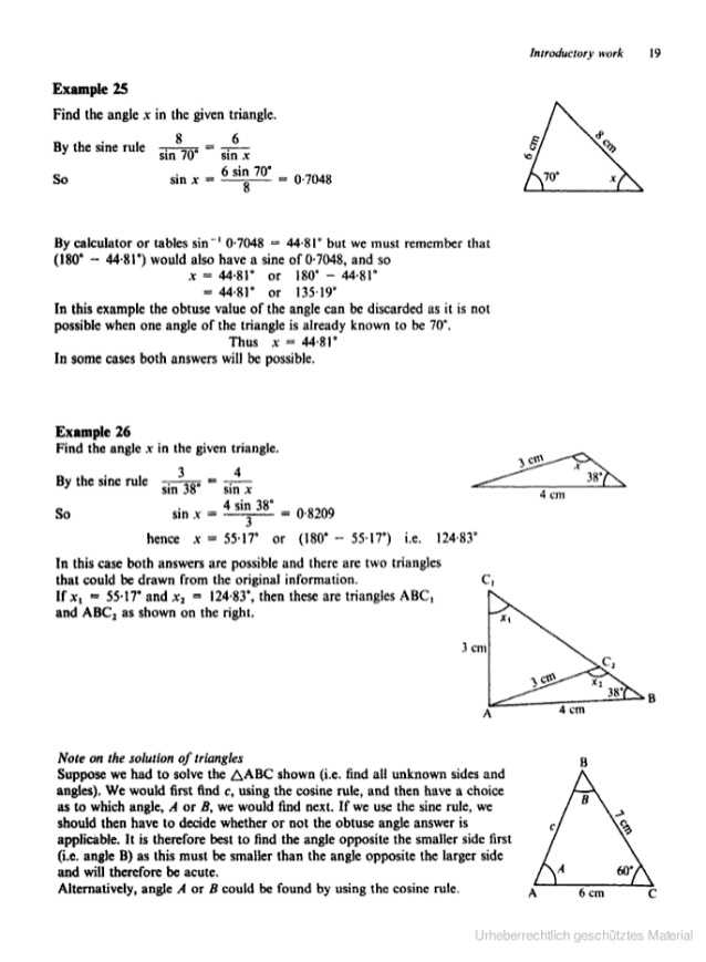 Law Of Sines Practice Worksheet Answers Along with Matemáticas Puras Understanding Pure Mathematics