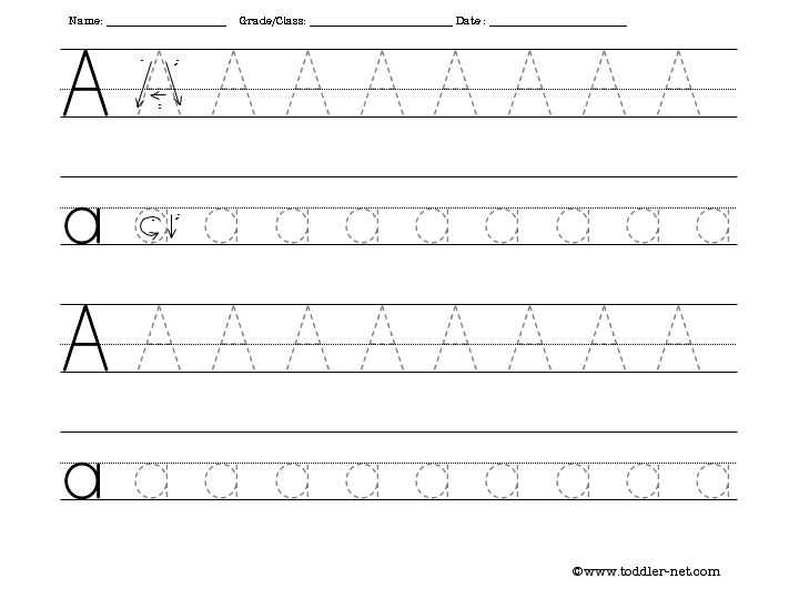 Letter Tracing Worksheets Pdf Also Letter A Tracing Thinkpawsitive