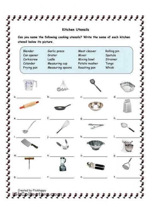Life Skills Worksheets for Adults together with Utensils Helena S Cupcake Wars themed Birthday Party