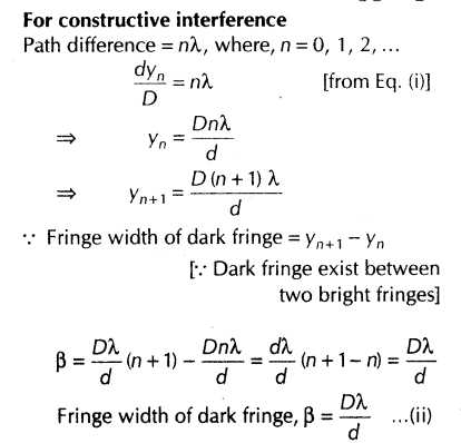 Light and Color Worksheet Answers Physics Classroom with Important Questions for Cbse Class 12 Physics Interference Of Light
