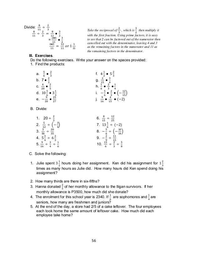 Light Me Up Math Worksheet Answers or Grade 7 Learning Module In Math