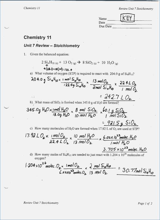 Limiting Reactant and Percent Yield Worksheet Answer Key with Percent Yield Worksheet 1 Kidz Activities