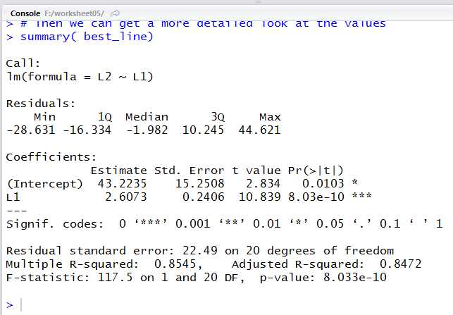 Linear Regression and Correlation Coefficient Worksheet or Worksheet 05 More Linear Regression