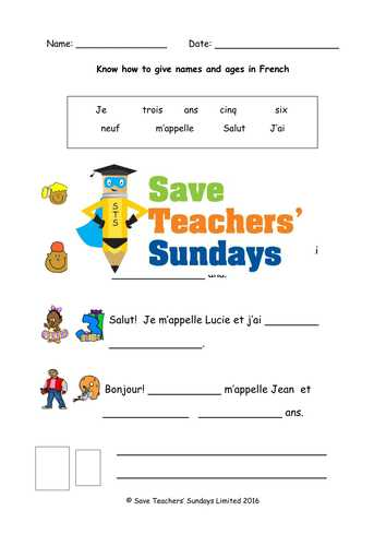 Linguascope Worksheet Answers Spanish Along with Elementary School French Resources Days Dates Months Seasons