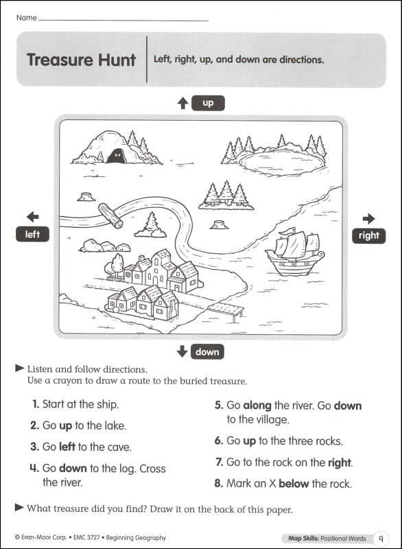 Map Skills Worksheets Middle School or Map and Globe Skills Worksheets Kidz Activities