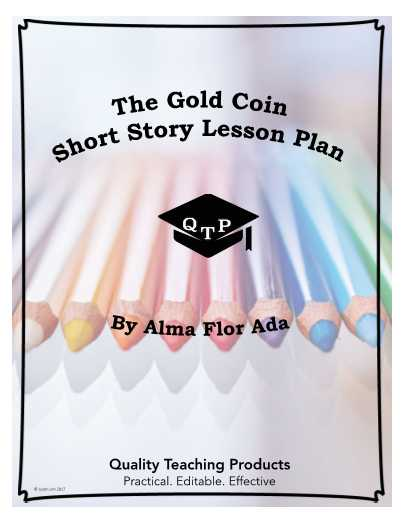 "Masque Of the Red Death Worksheet Answers Also the Gold Coin"" by Alma Flor Ada Worksheet and Answer Key Save"