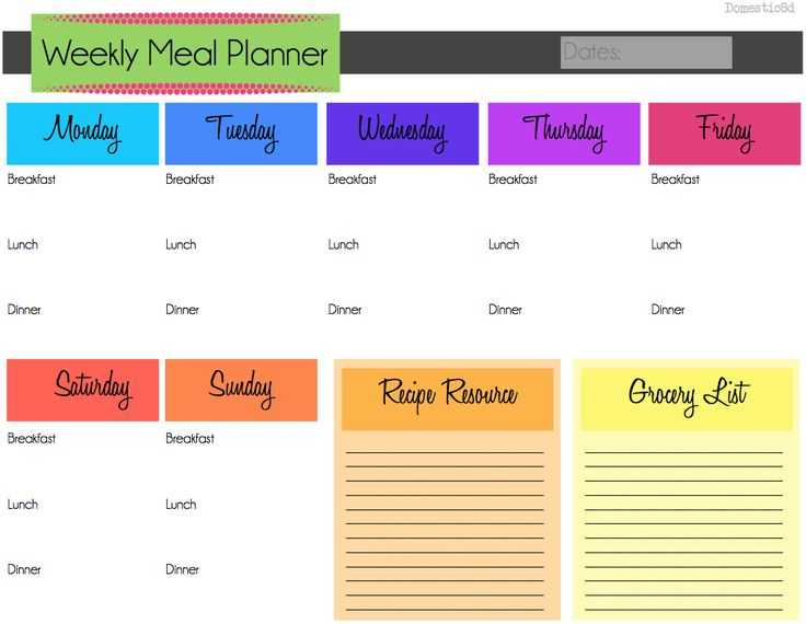 Meal Planning Worksheet with 655 Best Meal Prep Planner Templates Images On Pinterest
