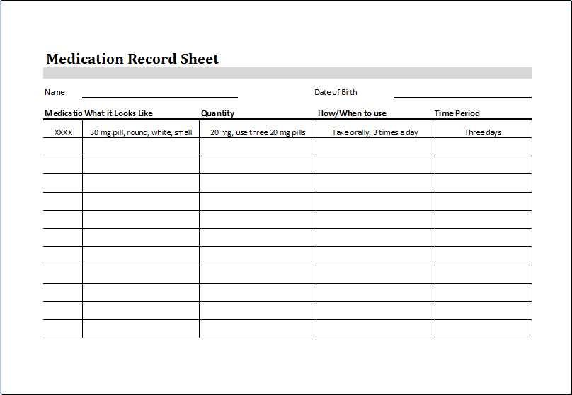 Medication Management Worksheet together with Medication Log Sheets Guvecurid