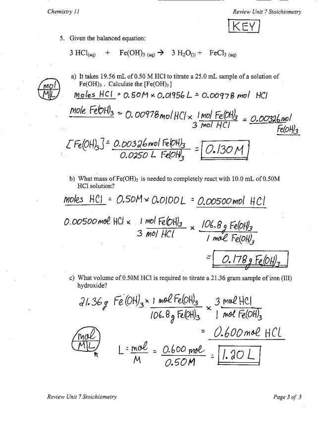 Moles Worksheet Answers Also Mole Calculations In Chemical Equations Wallpapers 45 Inspirational