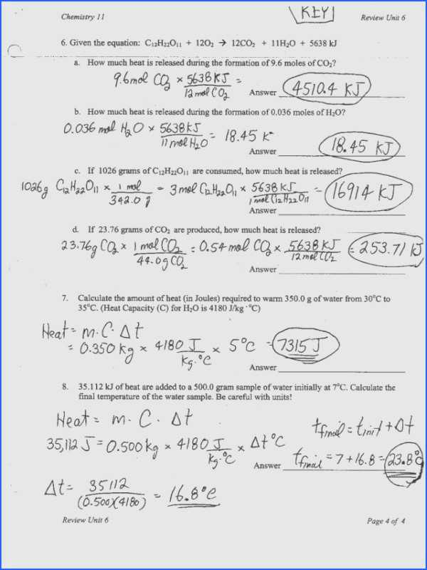 Moles Worksheet Answers with Mole Calculation Worksheet