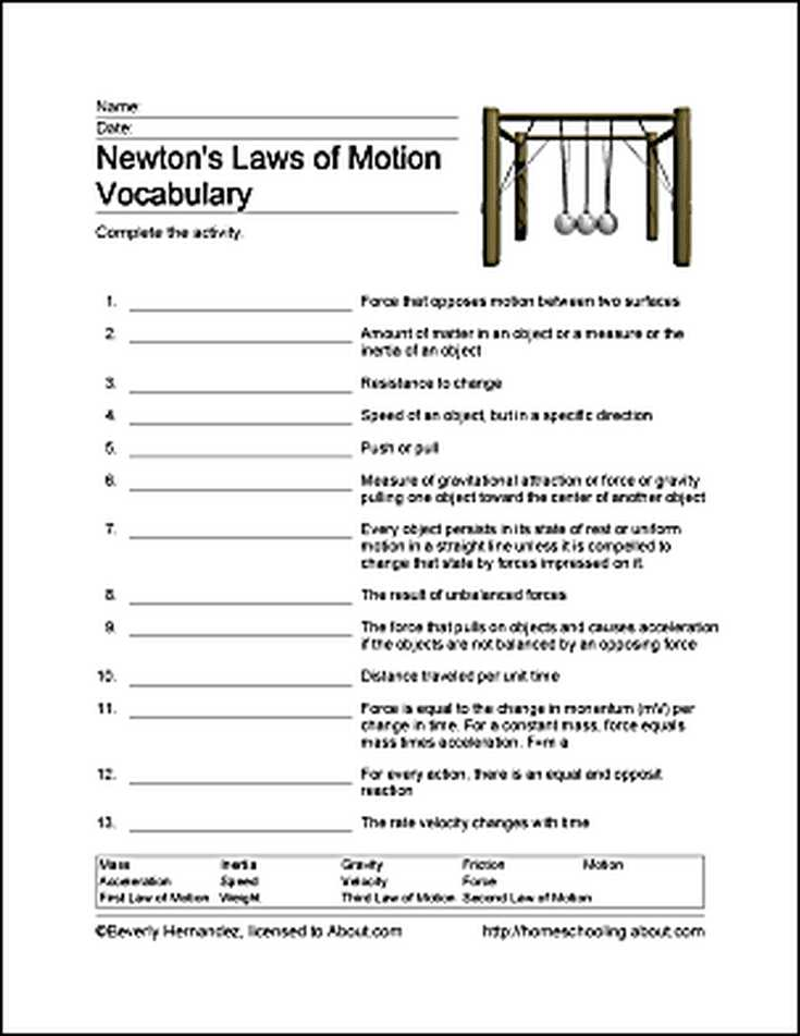Motion Graphs Worksheet Answer Key together with Fun Ways to Learn About Newton S Laws Of Motion