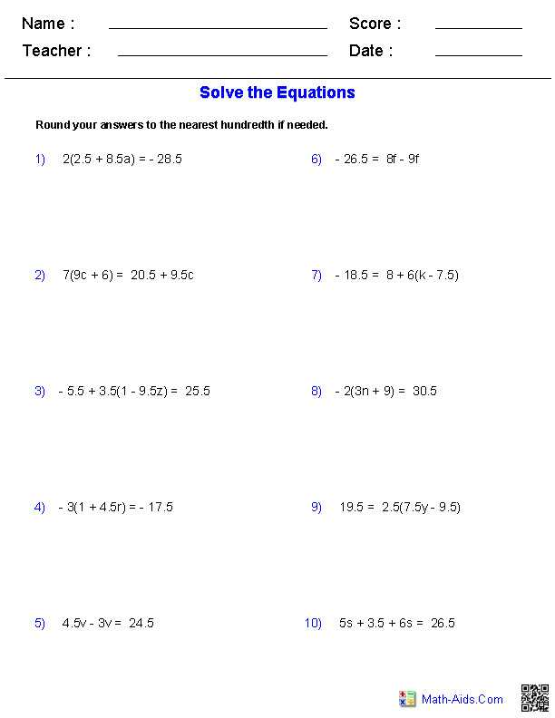 Multi Step Equations Worksheet together with solving Multi Step Equations Worksheet