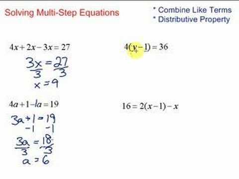 Multi Step Equations Worksheet Variables On Both Sides Also Worksheets 45 Inspirational solving Equations with Variables Both
