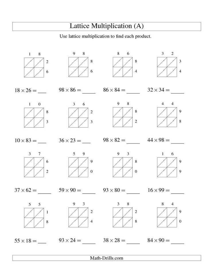 Multiply Using Partial Products 4th Grade Worksheets Also 73 Best Laura Images On Pinterest