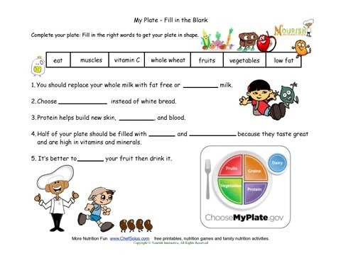 My Plate Worksheets as Well as 104 Best Nutrition Unit Images On Pinterest