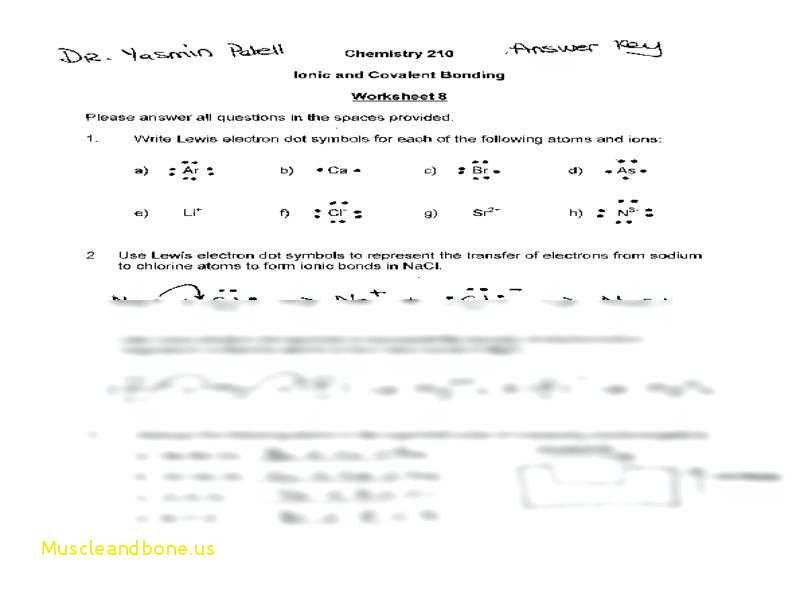 Naming Covalent Compounds Worksheet Answer Key Along with Covalent Pounds Worksheet formula Writing and Naming Key Luxury