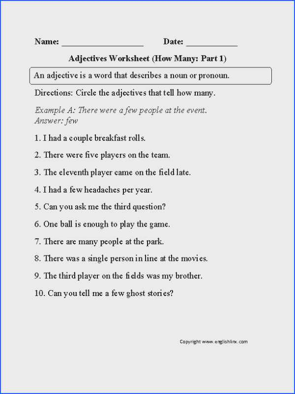 Noun Verb Adjective Adverb Worksheet Also Adverb Worksheets