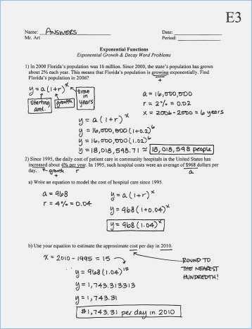 Nuclear Decay Worksheet Along with Fresh Exponential Growth and Decay Worksheet Elegant Exponential