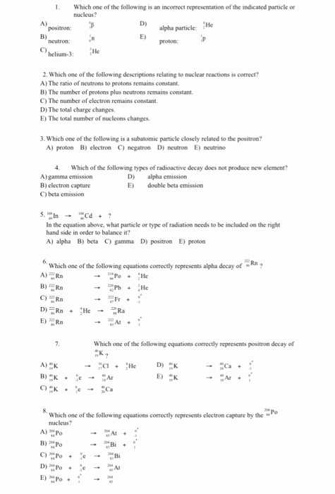 Nuclear Decay Worksheet and 23 Awesome Nuclear Chemistry Worksheet Answers