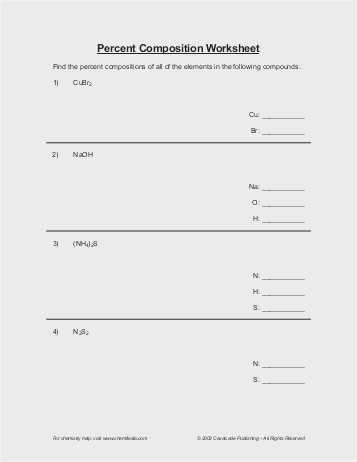 Percent Error Worksheet Answer Key as Well as 35 Percent Yield Worksheet Graphics