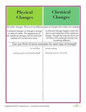 Physical and Chemical Properties Worksheet Physical Science A Answers with 44 Best Chemistry Images On Pinterest